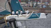 Oman Air flying a hull, Qingdao day 2 - Image credit Lloyds Images