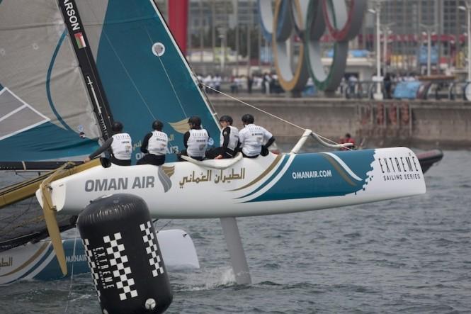 Oman Air flying a hull, Qingdao day 2 - Image credit Lloyds Images