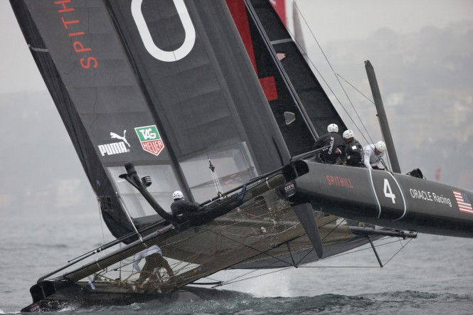 Oracle Racing - © ACEA 2012 - Photo Gilles Martin-Raget