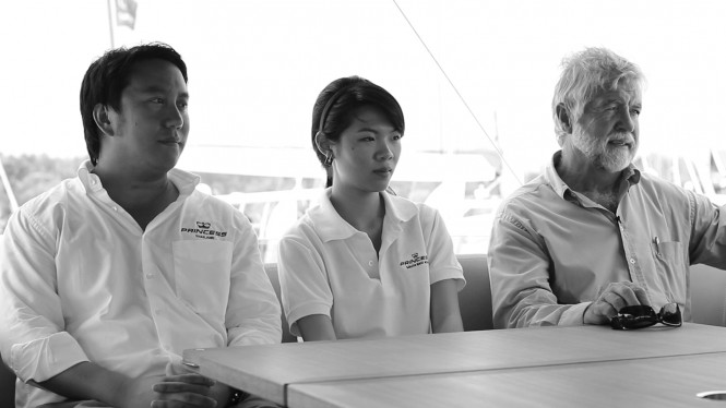 PIMEX 2012 Princess Yachts SEA team