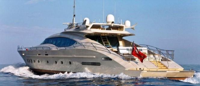 Palmer Johnson 120 performance Motor Yacht Natalia