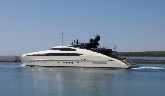 Palmer Johnson Yacht Vantage - Photo courtesy of Palmer Johnson