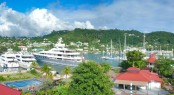 Port Louis Marina - a superyacht marina situated in a fabulous Caribbean yacht charter destination - Grenada