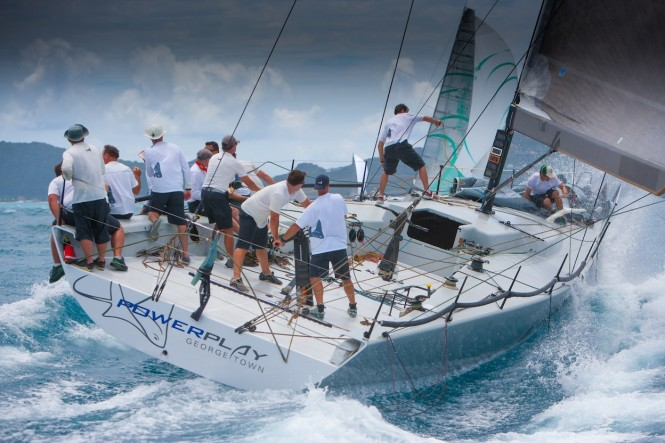 PowerPlay on Day 3 at Les Voiles de St. Barth