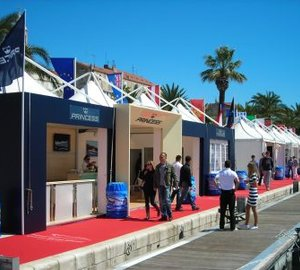 Princess Yachts exhibited at the Croatia Boat Show 2012