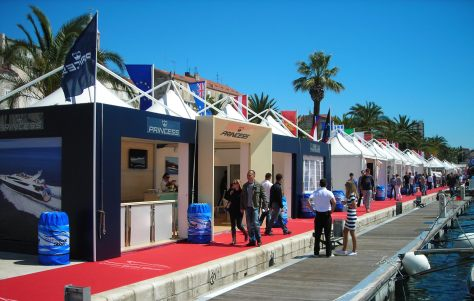 Princess Yachts at the Croatia Boat Show 2012