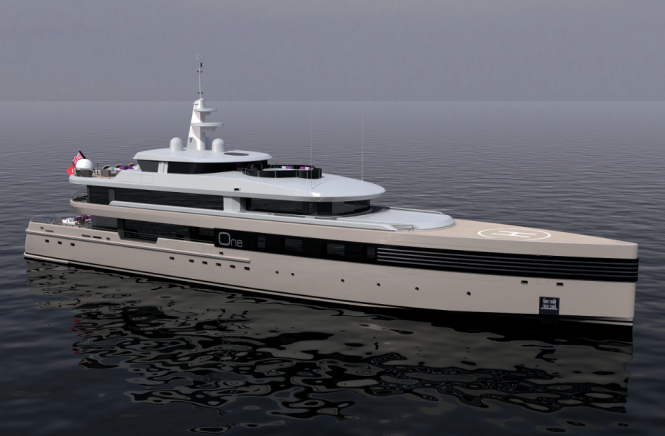 Project One Superyacht by  CMN Yachts
