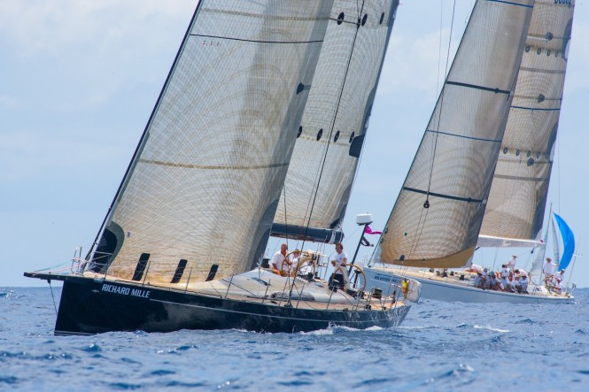 Racing on final day of Les Voiles de St. Barth