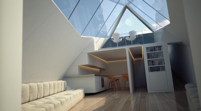 Revolutionary 38m Archimedean Yacht by Innovation Imperative - Interior