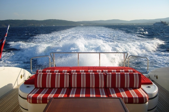 SOAN yacht -  Aft
