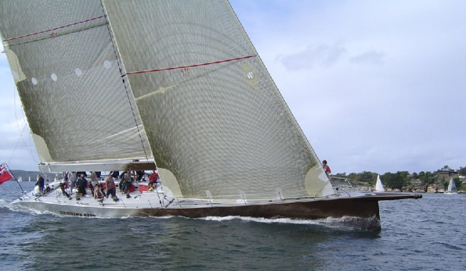 Sailing yacht Genuine Risk