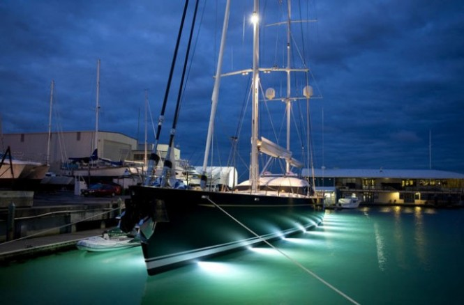 Sailing yacht Mondango - Photo Credit Alloy Yachts