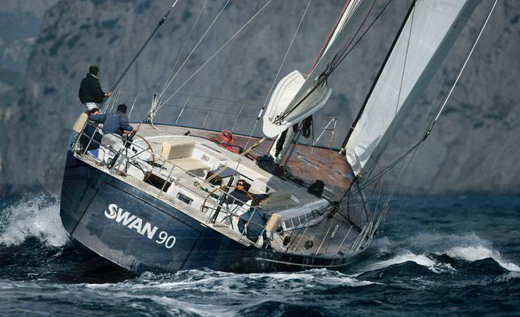 Nautor s swan yachts for sale - Sailing Yacht Swan 90 Luxury Yacht Charter Amp Superyacht News