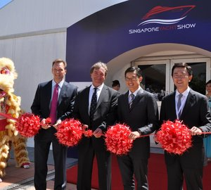 The 2nd annual Singapore Yacht Show´s Opening Ceremony