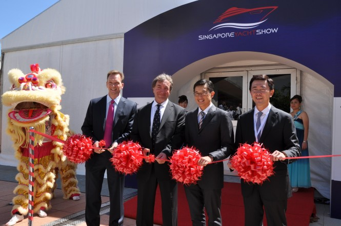Singapore Yacht Show 2012 Opening Ceremony - Ribbon Cutting