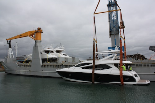 Superyacht Transportation Firm PSP