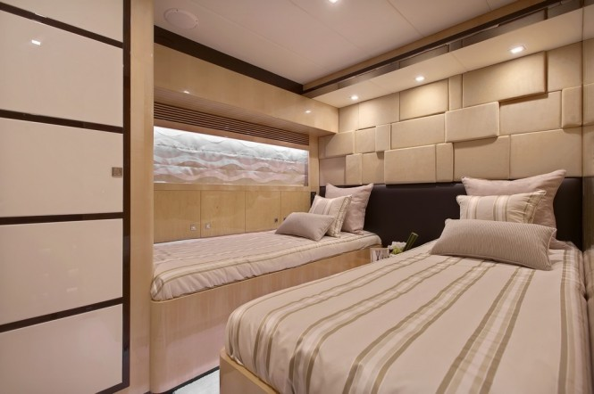 Superyacht Virginia Twin Cabin