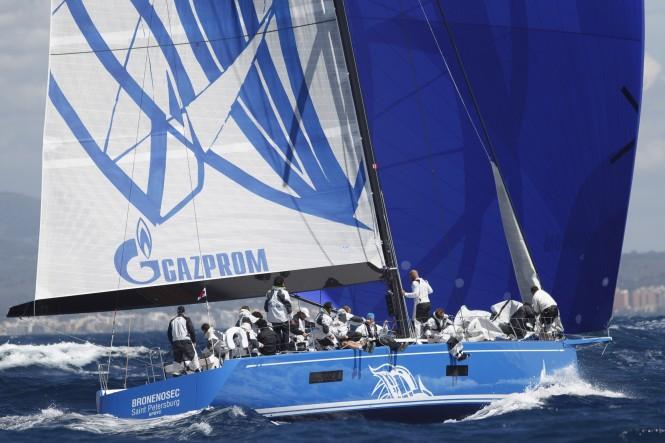 Swan 60 sailing yacht Bronenosec