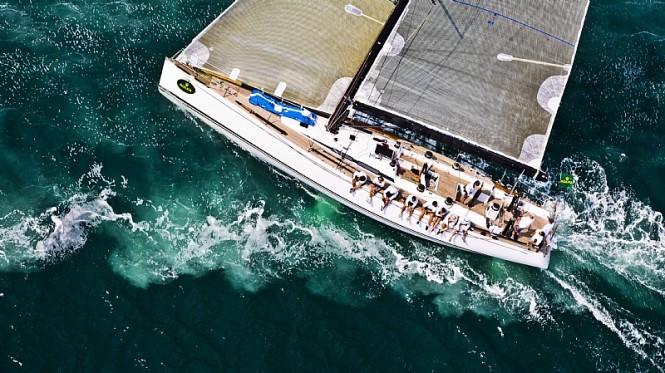 Swan 60 yacht VERTICAL SMILE
