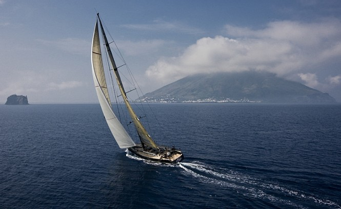 Swan 90 sailing yacht DSK PIONEER INVESTMENTS