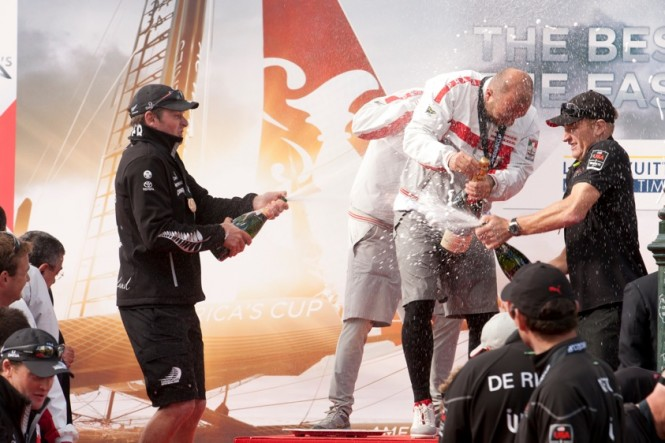 Team Luna Rossa wins the Naples AC World Series
