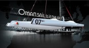 The 7th MOD70 one-design trimaran yacht OMAN SAIL