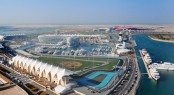 The F1 TM track at Yas Marina