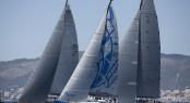 Swan 60 yacht Bronenosec experienced international fleet racing with some of the world´s top names at Mapfre Palma Vela Credit: MartinezStudio.es