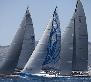 Swan 60 yacht Bronenosec takes 7th place at Mapfre Palma Vela 2012