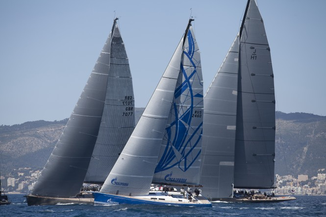 Swan 60 yacht Bronenosec experienced international fleet racing with some of the world´s top names at Mapfre Palma Vela Credit: MartinezStudio.es