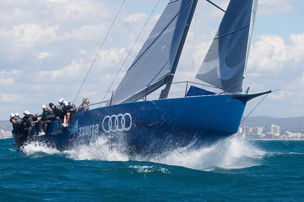 The new Audi Azzurra Sailing Team´s TP52 yacht