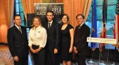 The official launch of the KRYS OCEAN RACE at the French Consulate in New York