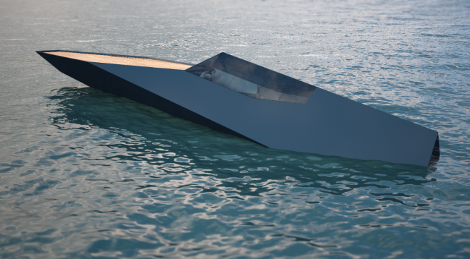 The unique 38m motor yacht Archimedean by Innovation Imperative