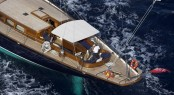 This Is Us superyacht - view from above