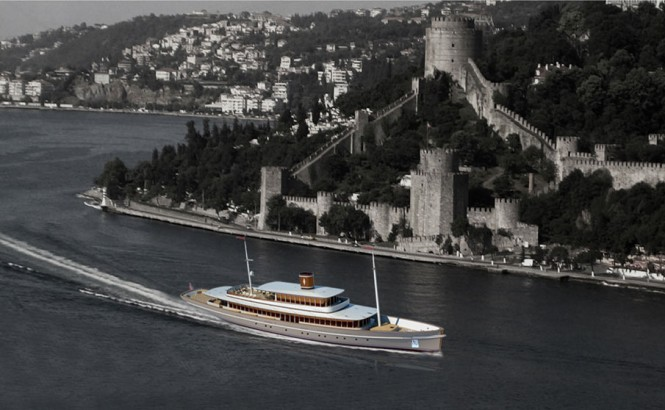 VIP Tour Boat ISTANBUL by Baris Yurek Naval Architecture and Yacht Design