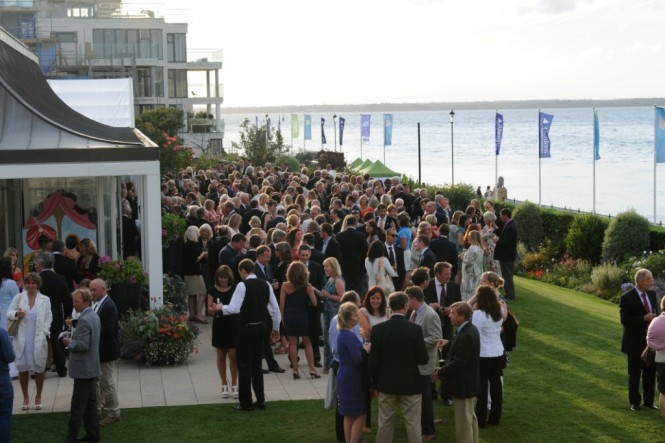 White Label Champagne Lanson will be enjoyed at many of Aberdeen Asset Management Cowes Week's social event