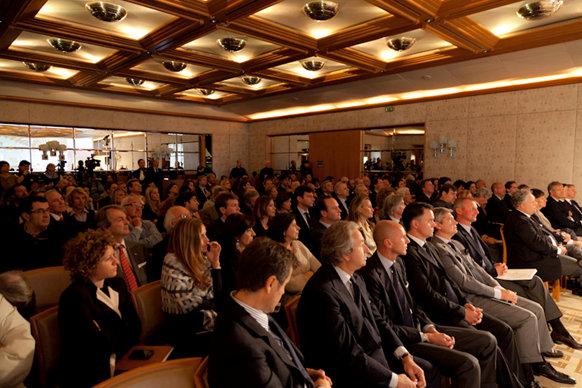 YCCS Press Conference - Milan, April 2012
