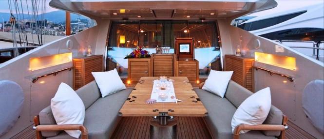 Yacht Natalia - Aft Deck