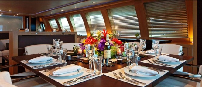 Yacht Natalia - Dining