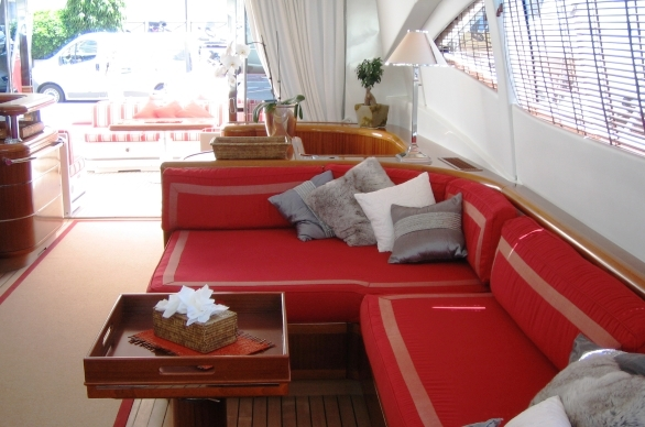 Yacht SOAN -  Salon Seating
