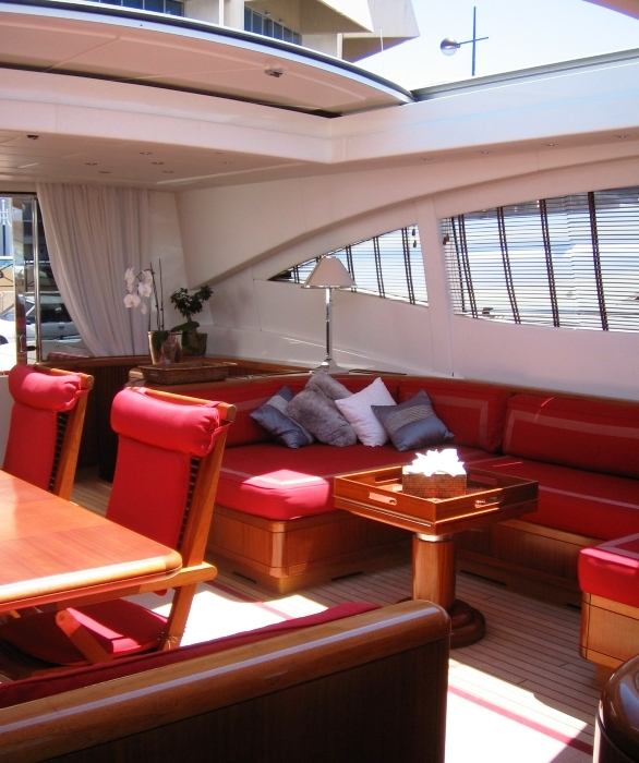 motor yacht SOAN -  Salon View
