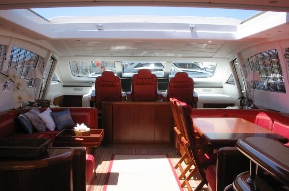 motor yacht SOAN -  Salon
