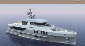 110ft Rene Van Der Velden motor yacht