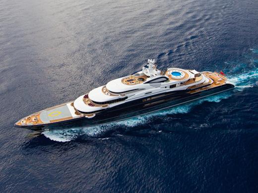 133.9m megayacht Serene by Fincantieri Yachts