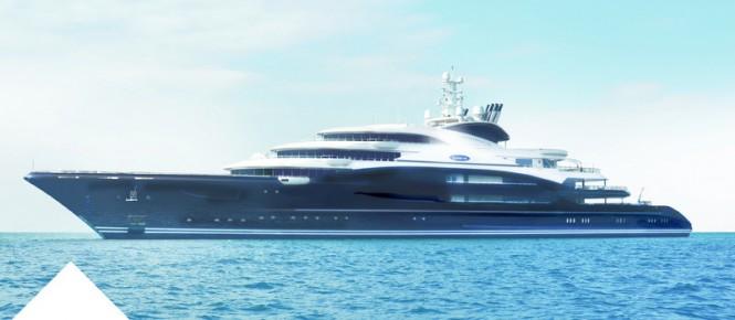 134m Fincantieri megayacht Serene