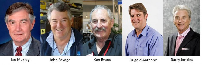 2012 Australian Marine Industry Awards Panel