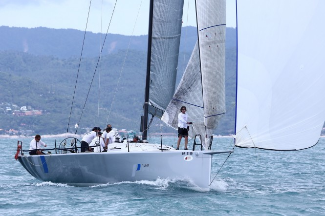 Tight racing in the IRC Zero class sees Australian entry Hooligan currently leading the series. Photo by SamuiPics.com.