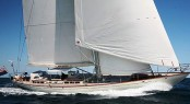 24m sailing yacht Drumfire - winner of the Superyacht Cup Palma 2011 Credit Hoek design