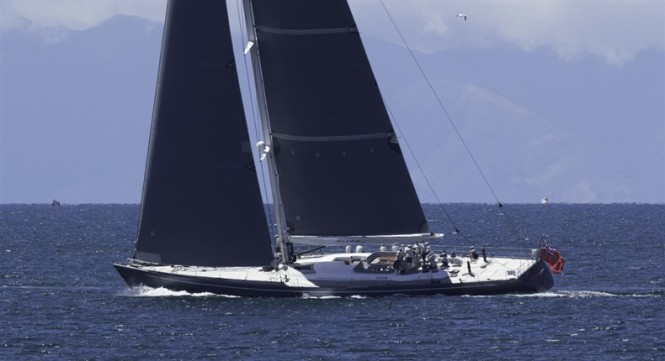 33.8m sailing yacht Silvertip by Yachting Developments