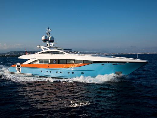 37m luxury yacht Aurelia by Heesen Yachts